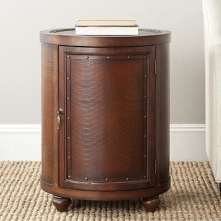 Safavieh Felix Dark Brown Side Table