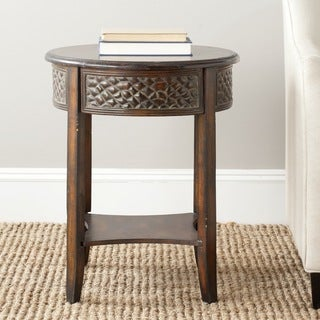 Safavieh Howard Dark Brown Side Table
