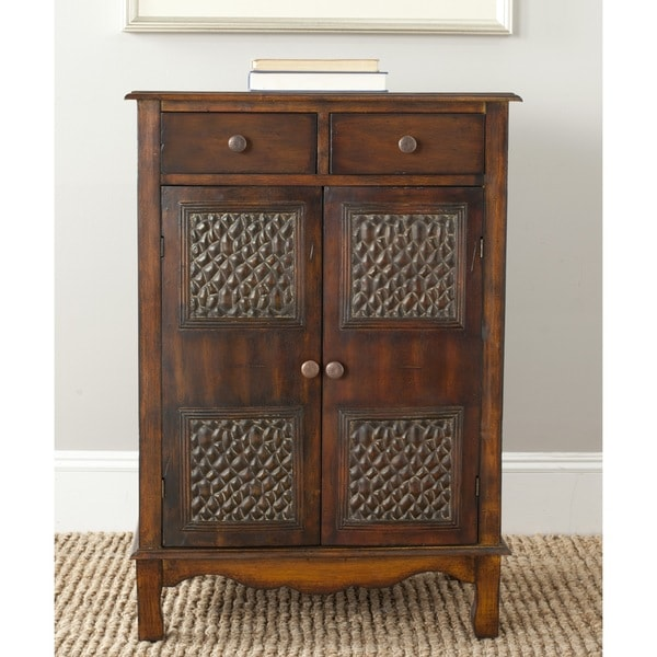 Safavieh Herbert Dark Brown Storage Chest