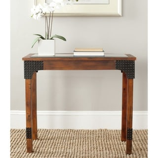 Safavieh Elmer Dark Brown Console Table