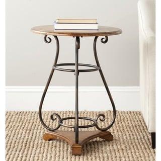 Safavieh Edith Dark Brown Side Table