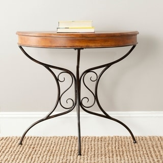 Safavieh Bertha Dark Brown Console Table