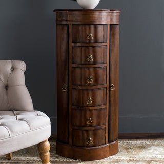 Safavieh Regina Dark Brown Jewerly Storage Armoire