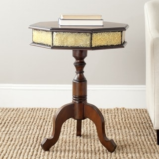 Safavieh Daphne Dark Brown Side Table