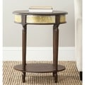 Safavieh Bernice Dark Brown Side Table