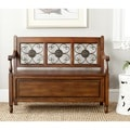 Safavieh Erica Dark Brown Storage Bench