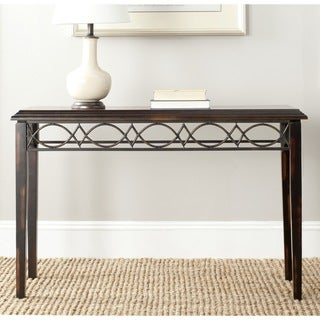 Safavieh Jacquelyn Dark Brown Console Table