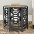 Safavieh Natanya Charcoal Grey Side Table