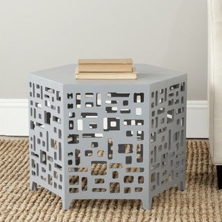 Safavieh Kelby Pearl Blue Grey End Table