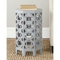 Safavieh Garion Pearl Blue Grey Side Table