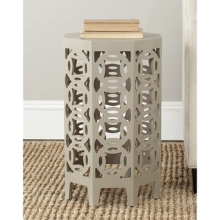 Safavieh Garion Pearl Taupe Side Table