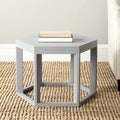 Safavieh Heidi Pearl Blue Grey End Table