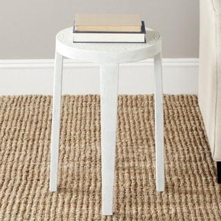 Safavieh Klein White Side Table