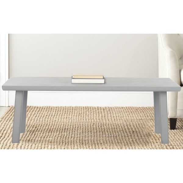 Safavieh Rocco Pearl Blue Grey Bench
