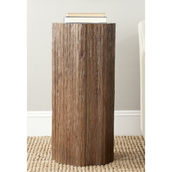 Safavieh Arnel Brown Log Stool