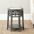 Safavieh Adela Charcoal Grey Side Table