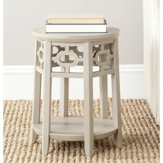 Safavieh Adela Pearl Taupe Side Table