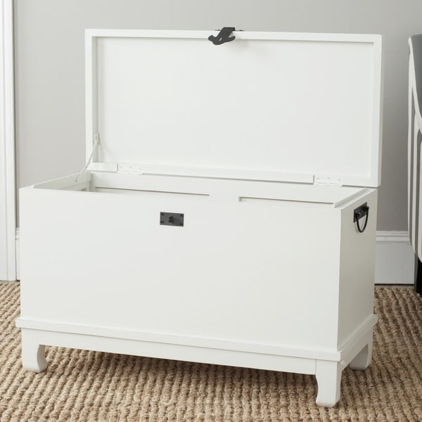 Safavieh Wesley Off White Storage Chest