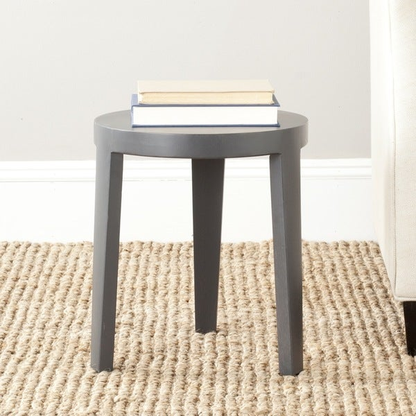 Safavieh Wilma Charcoal Grey Side Table