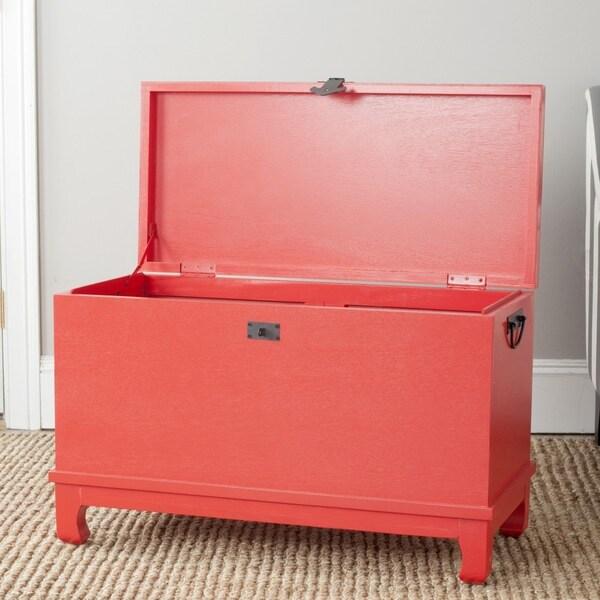 Safavieh Wesley Red Storage Chest