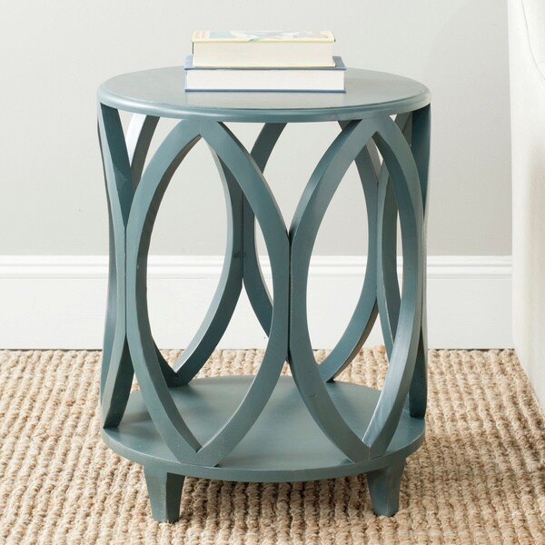teal end tables 2