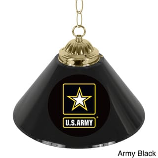 U.S. Army 14-inch Single-shade Bar Lamp