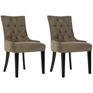Safavieh Ashley Grey Side Chair (Set of 2)