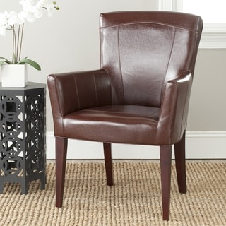 Safavieh Dale Brown Arm Chair