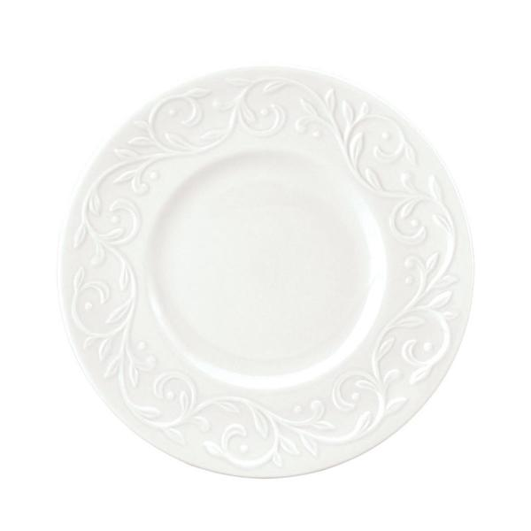 Lenox Opal Innocence Carved Dessert Plates (Set of 4)