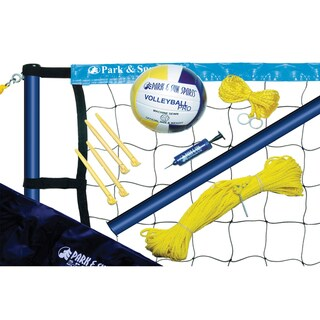 Park & Sun Sports Spiker Sport Steel Volleyball Set