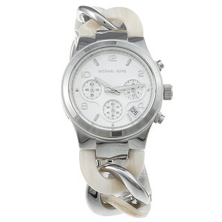 Michael Kors Women's MK4263 Silvertone Watch