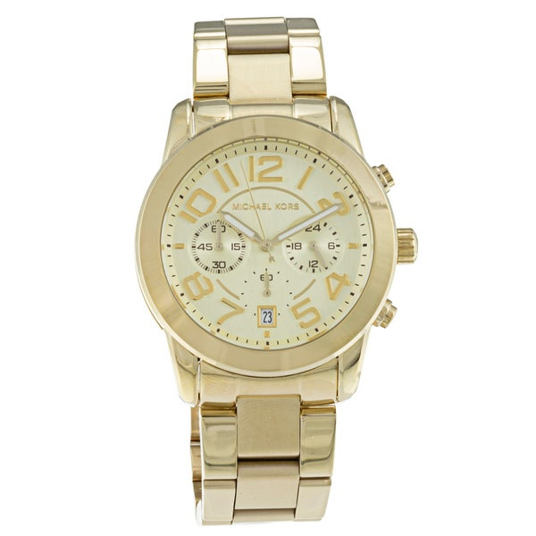 Michael Kors Women's MK5726 ' Mercer' Gold-Tone Stainless Steel Watch