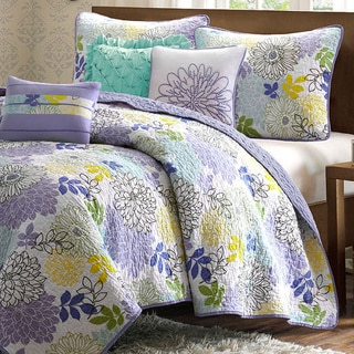 Madison Park Jessica 6-piece Cotton Coverlet Set