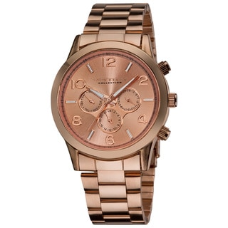 Vernier Ladies Oversized Multifunction Chronograph Japanese Quartz Bracelet Watch