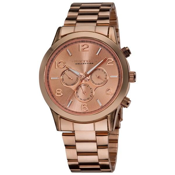 Vernier Ladies Oversized Multifunction Chronograph Japanese Quartz Bracelet Watch
