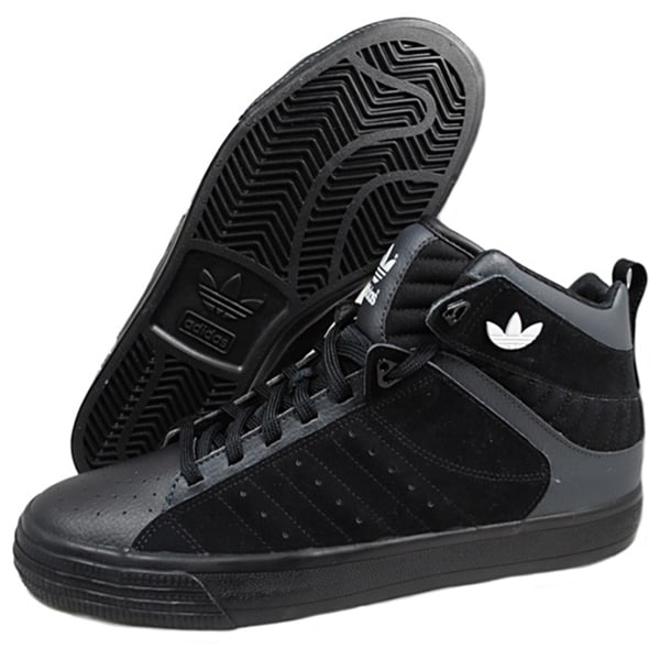 Adidas Men's 'Freemont' Black/ Grey Athletic Shoes