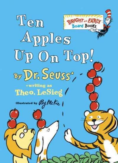 Ten Apples Up on Top! (Board book)