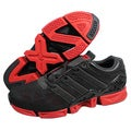 Adidas Men's 'H3 ZXZ' Black/ Red Running Shoes