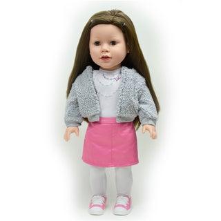 The New York Doll Collection 18-inch Rosy Doll