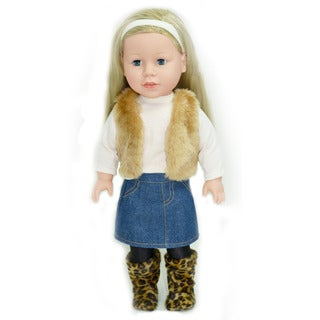The New York Doll Collection 18-inch Holly Doll