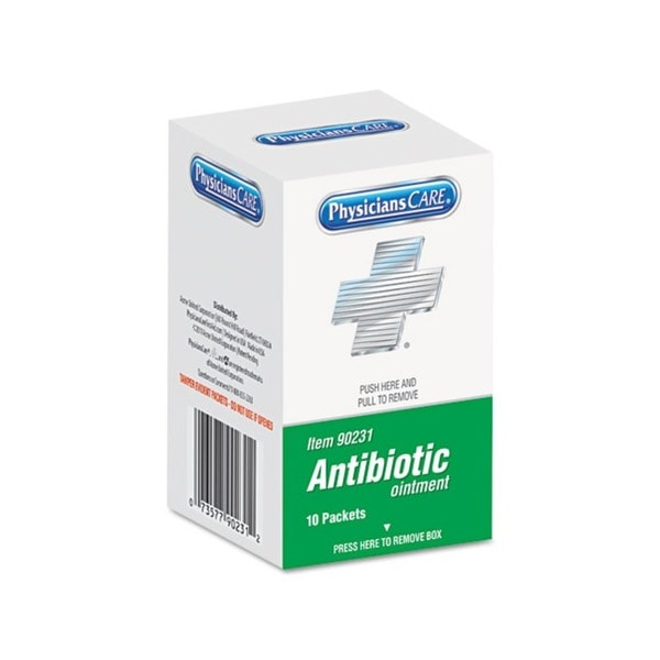 PhysiciansCare XPRESS Antibiotic Cream First Aid Kit Refill (10/box)