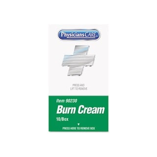 PhysiciansCare XPRESS First Aid Kit Burn Cream Refill (Box of 10)