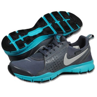 NIKE Women&#39;s In Season TR Shld Grey/ Teal Athletic Shoes