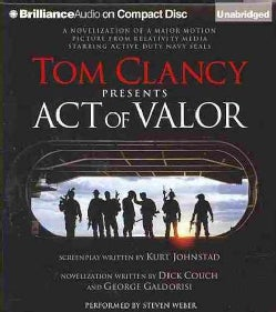 Tom Clancy Presents Act of Valor (CD-Audio)