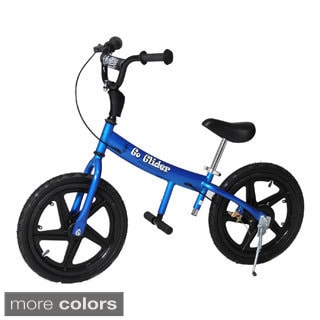 Glide Bikes Go Glider Kids Balance Training Bike with 16-inch Durable Tires