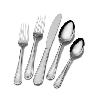 International Silver Silhouette Frost 20 Pc Flatware Set