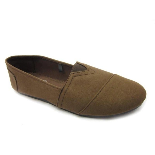 Blue Women's 'Timmy' Canvas Wrapped Flats
