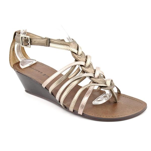 Madden Girl Women's 'Whish' Synthetic Sandals (Size 8.5)