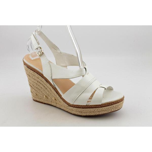 Anne Klein Sport Women's 'Tague' Leather Sandals (Size 9)