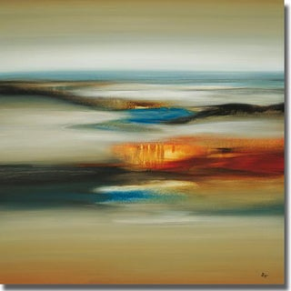 Lisa Ridgers 'Calm Scape' Canvas Art